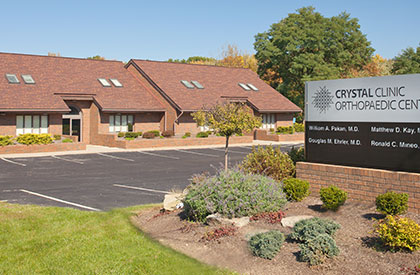 Kent, Ohio Crystal Clinic Orthopaedic Center